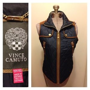 XS Vince Camuto Quilted Vest